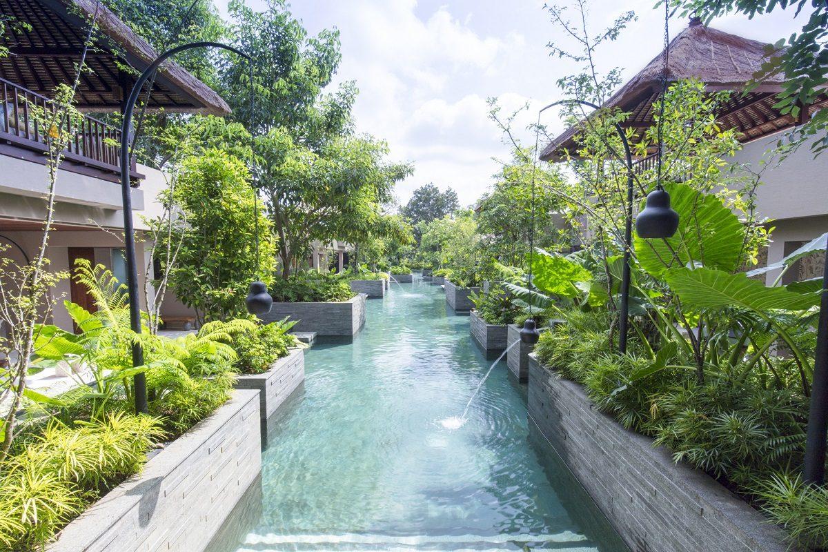 [HOSHINOYA Bali]Canal pool 1