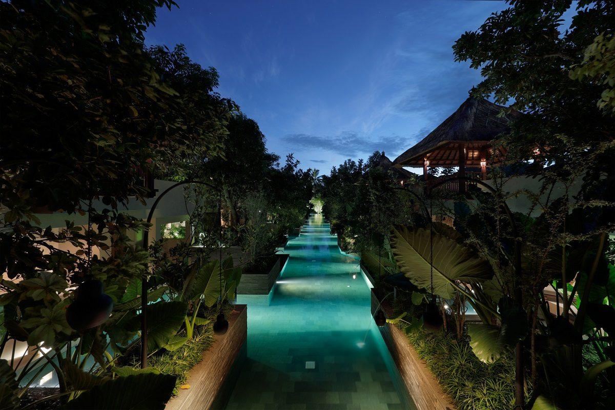 [HOSHINOYA Bali]Canal pool 11