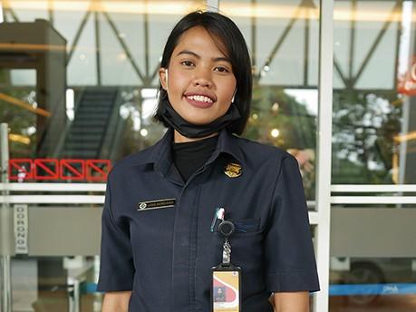 インドネシア、ジャカルタでコロナ問題をセキュリティにインタビュー