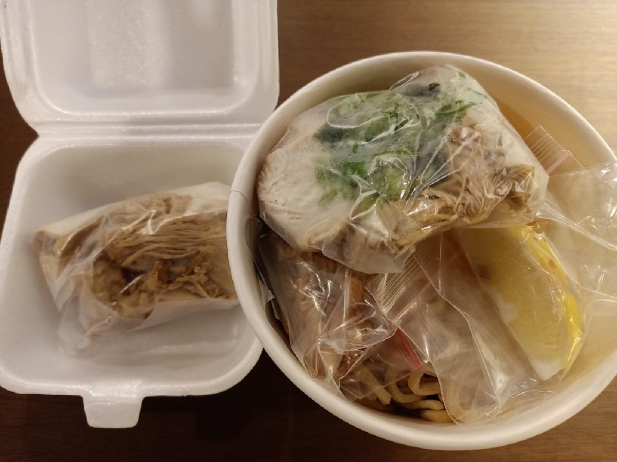ジャカルタのラーメン店清六屋のメニュー