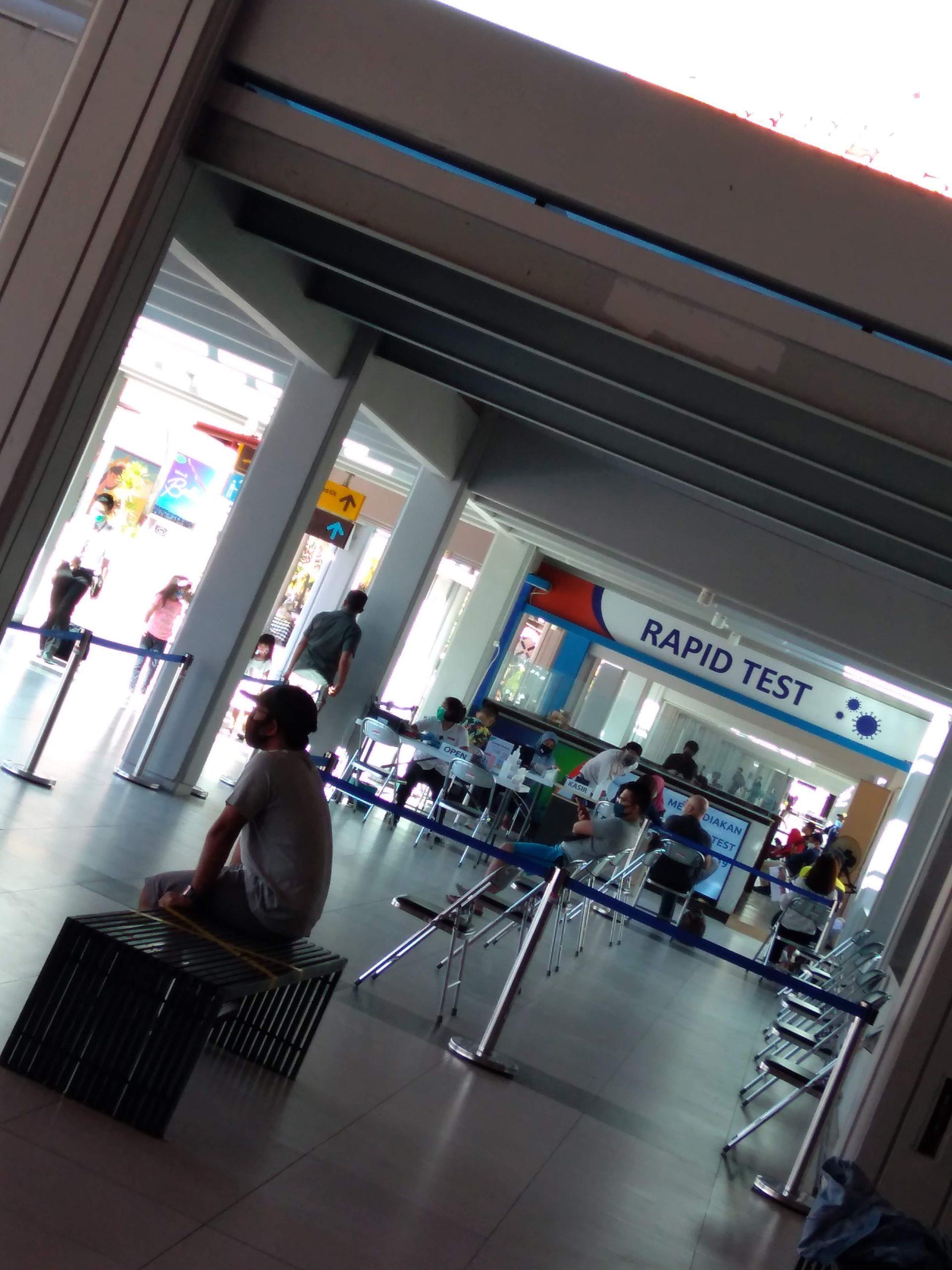 デンパサール空港の様子