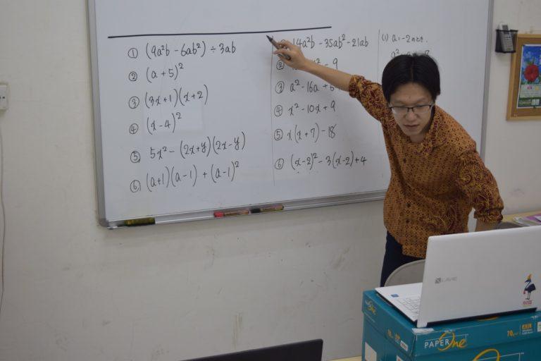 ジャカルタの学習塾
